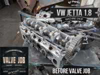 vw jetta head before valve job