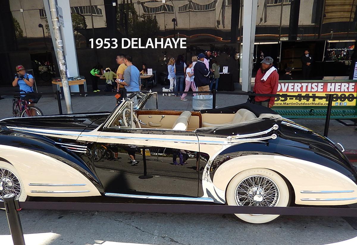1953 Delahaye Type 178 Cabriolet - Los Angeles Machine Shop ...