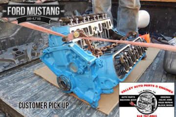 Ford Mustang 289 4.7 V8 Remanufactured Engine