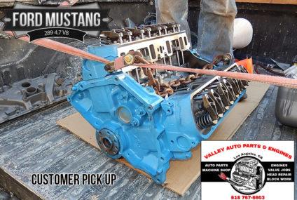 Ford Mustang 289 4.7 V8 Remanufactured Engine