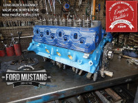 Assembled Ford Mustang 289 long block engine