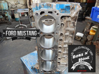 Cleaned, bore and honed engine block Ford 289