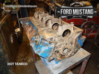 hot tanked ford mustang 289 engine block