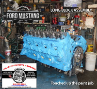 assembling long block ford 289