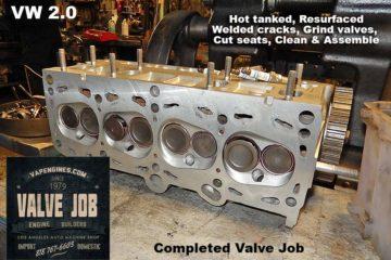 VW 2.0 Valve Job