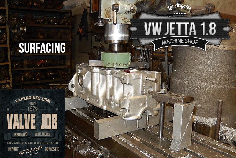 resurface vw jetta 1.8 cylinder head