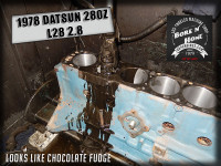 Hone 78 datsun 280z 2.8 engine cylinders