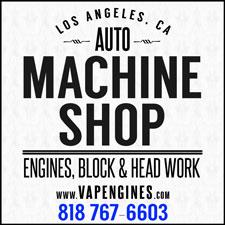 LA Machine block and head work