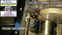 align oil tubes next to crank gm 6.6