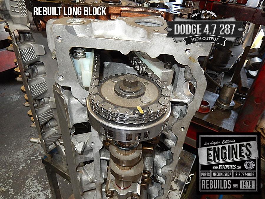 Dodge 4.7 High Output remanufactured engine - Los Angeles ...