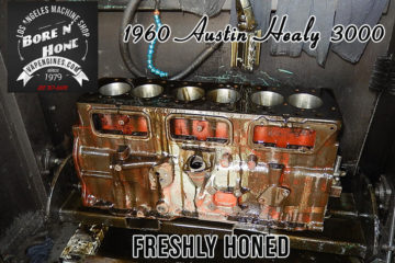 1960 Austin Healy 3000 L6 Bore and Hone