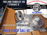 Pistons for 63 AMC Rambler 196 3.2
