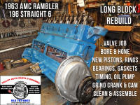 Reman AMC Rambler 196 I6