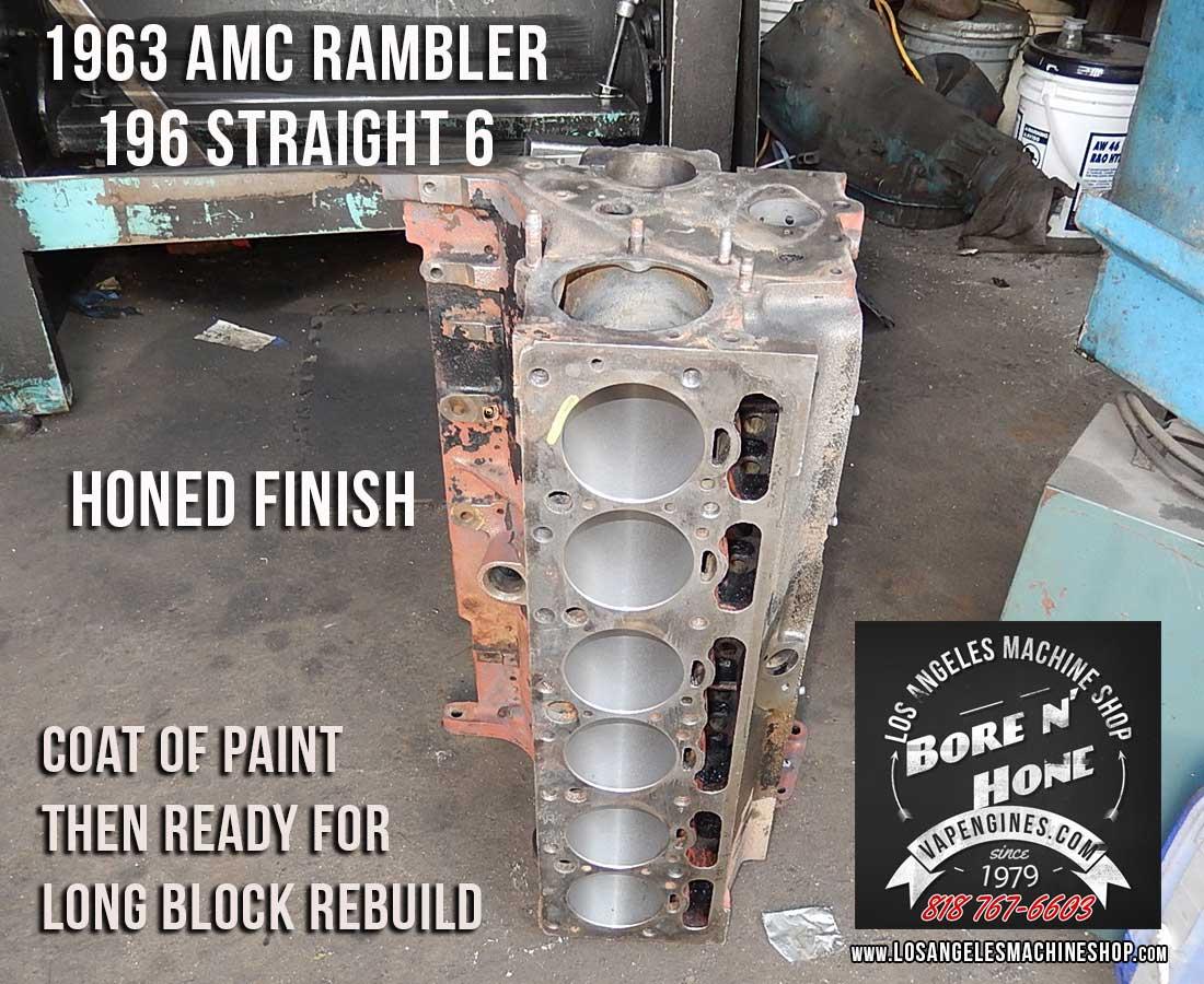 amc rambler   remanufactured engine los angeles machine shop engine rebuilderauto
