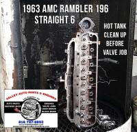 Rambler cylinder head hot tank