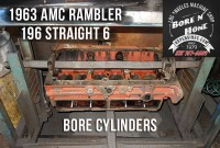 3.2 AMC Rambler 196 engine block bore