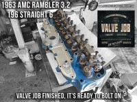cylinder head repair 63 amc rambler 196 I6
