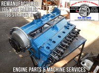 Remanufactured AMC 196 long block