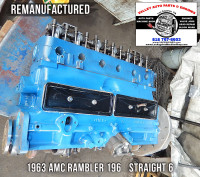 rebuilt 1963 AMC Rambler long block engine