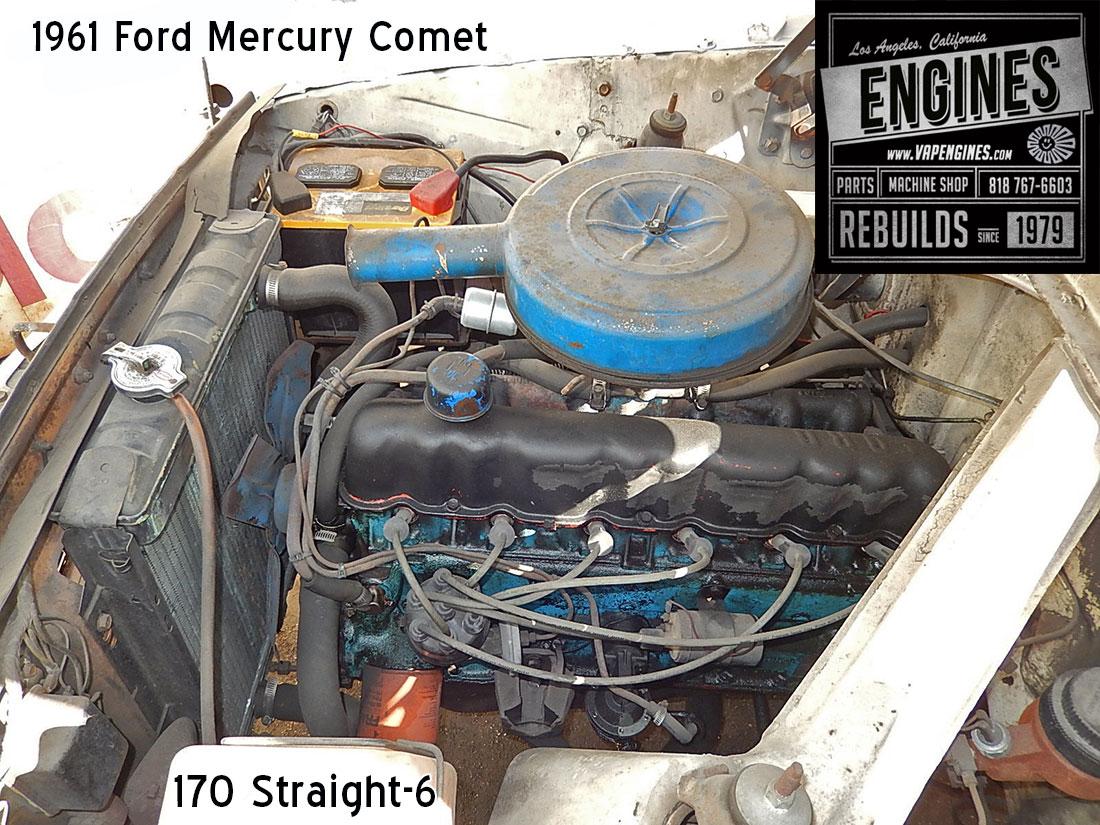 Ford Mercury Comet I Engine Cavity on Basic Car Engine Parts