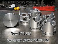 61 Mercury Comet 170 pistons