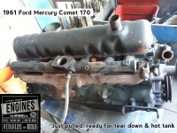 61 Mercury Comet engine