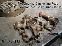 Mercury Comet connecting rods