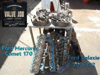 Mercury Comet 170 cylinder head