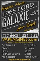 65 Ford Galaxie 500 engine builder