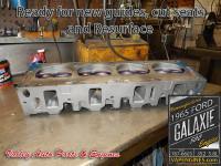 Valve job on 65 Ford Galaxie 5.8 352 head
