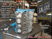 Build short block-Ford Galaxie 5.8L 352