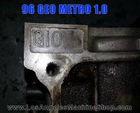 G10 block stamp Metro