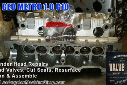 96 Geo Metro G10 1.0 Block & Head Repair