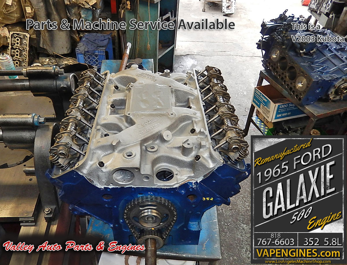Remanufactured rebuilt 65 Ford Galaxie long block