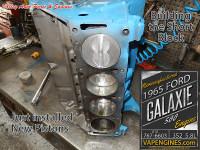 Short block rebuild 1965 Ford 352 5.8 engine