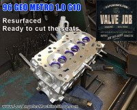 96 Geo Metro 3 cylinder valve job