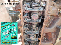 63 ford 390 crusty cylinder heads