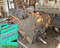 Teardown 1963 Ford thunderbird engine