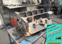 Hot tanked clean Ford 390 block