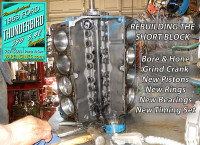 63 ford 390 Tbird short block rebuilt