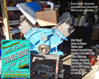 Complete engine rebuild Ford 390