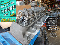 Valve Job Ford 390 heads