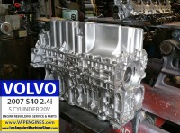 Volvo s40 oil pan and block