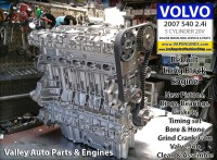 07 Volvo S40 2.4 long block rebuilt engine
