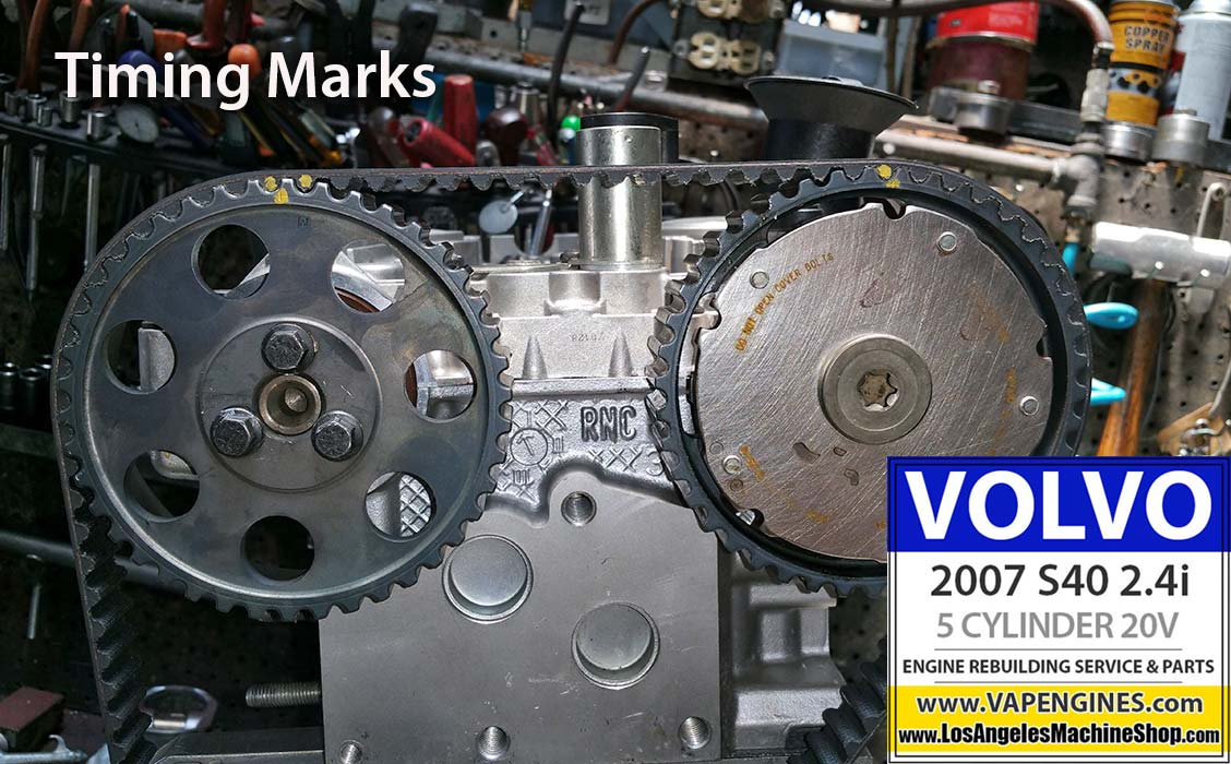 07 volvo s40 2 4i engine rebuild los angeles machine shop engine rh losangelesmachineshop com volvo s40 timing belt diagram volvo s60 timing belt diagram