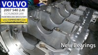 Volvo S40 2.4i engine bearings installed