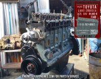 rebuilt toyota fj40 4.2 engine