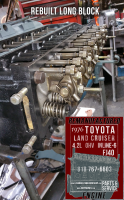 cylinder head Toyota FJ40 4.2