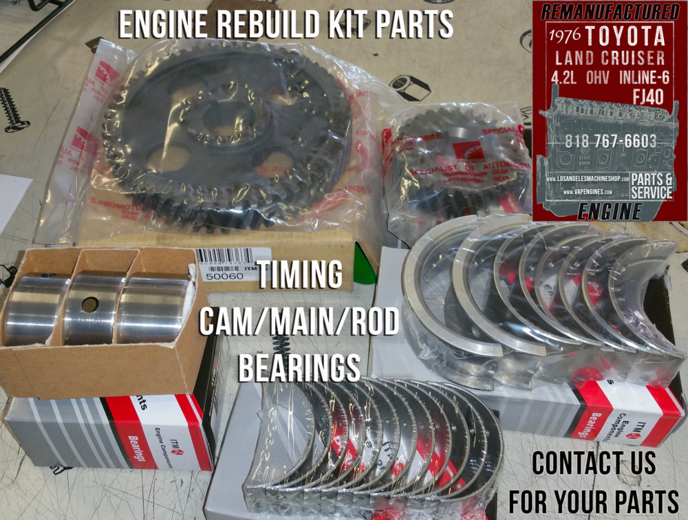 76 Toyota Land Cruiser Fj40 4 2 Engine Rebuilding