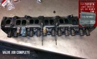 76 toyota fj40 4.2 valve job